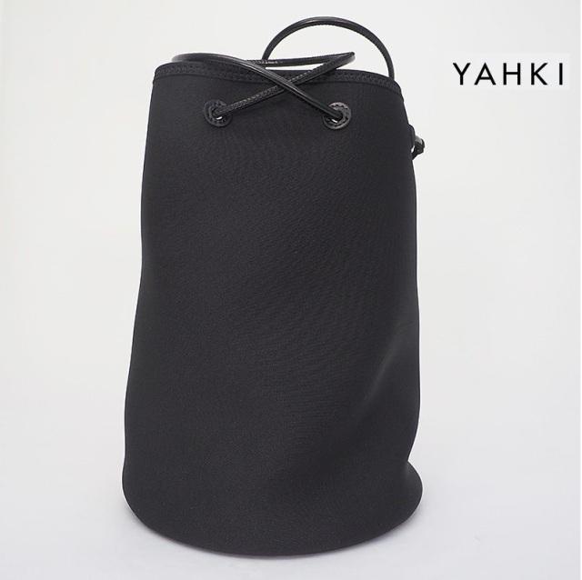 クリアランス【40%OFF】YAHKI ヤーキ YH-393 ラウンド巾着型ネオプレンバッグ 大 トートバッグ ショルダーバッグ | 21SS バッグ 春夏