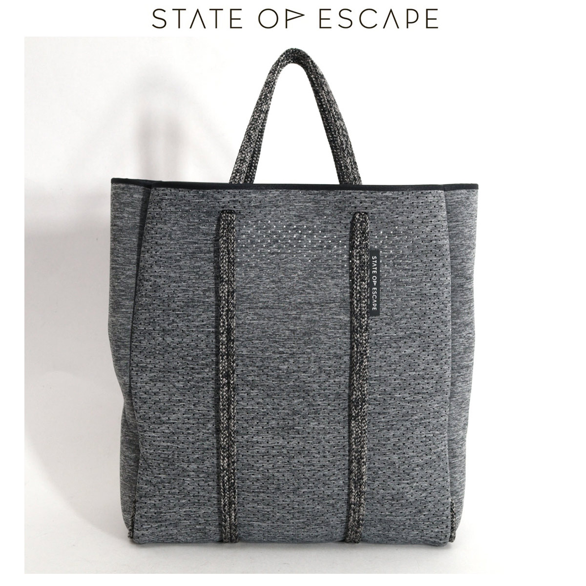 STATE OF ESCAPE MAGAZINE TOTE(Ch Gray)トートバッグ