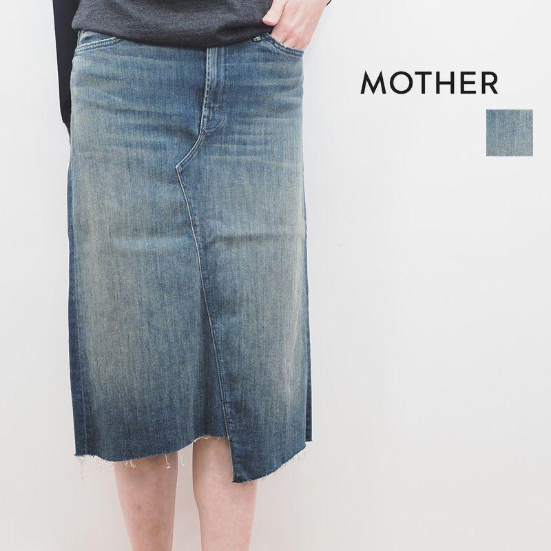 【20SS新作】MOTHER マザー 9175-360 076INDIGO FOD デニムスカート | ボトムス 20SS