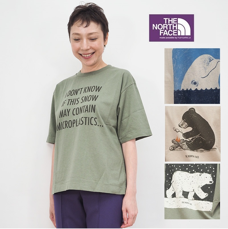【20AW新作】【正規品】NORTH FACE PURPLE LABEL ノースフェイス パープルレーベル NT3063N プリントTシャツ カットソー 5.5oz H/S Graphic Tee | 20AW トップス