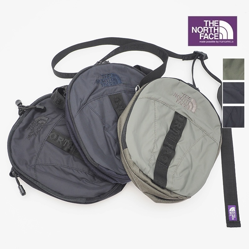 【20AW新色追加】【正規品】THE NORTH FACE PURPLE LABEL ノースフェイス パープルレーベル NN7953N NylonShoulderPouch ナイロンショルダーポーチ バッグ   20AW バッグ