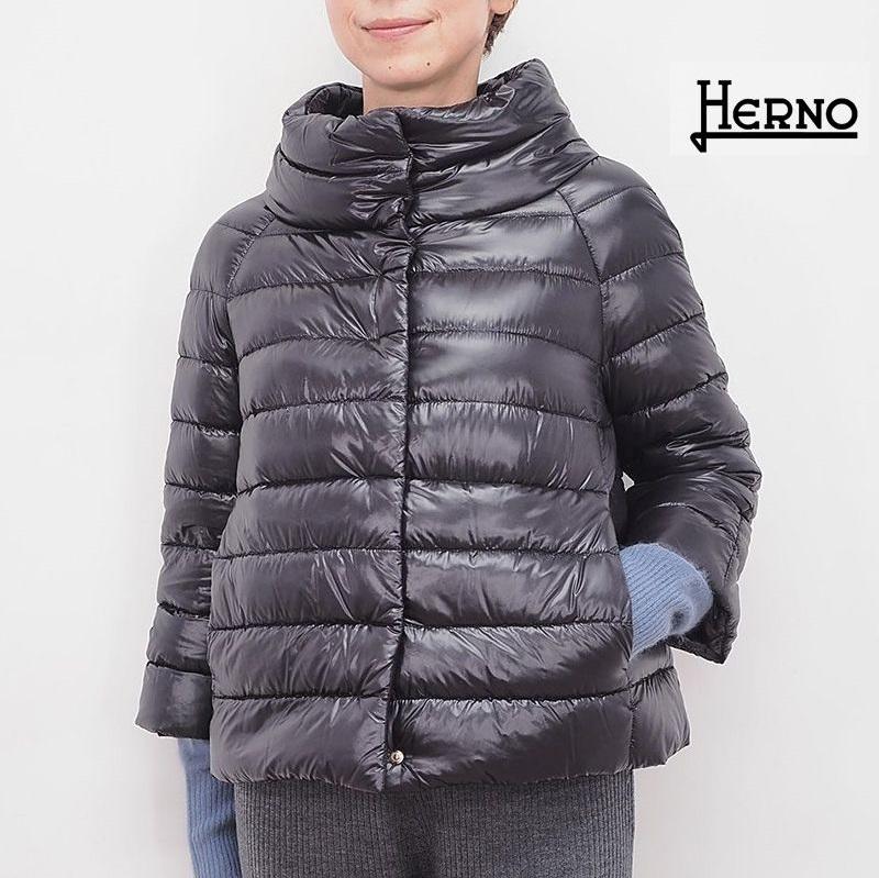 【正規品】HERNO ヘルノ PI0046DIC ビッグシルエットライトダウンジャケット ICONICO   秋冬 アウター 20AW