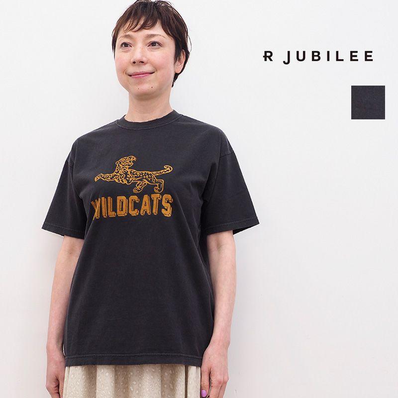 4/22販売開始【21SS新作】RJUBILEE アールジュビリー RJ2007 9040 ヴィンテージ風プリントTシャツ VintageTee | トップス 春夏 21SS