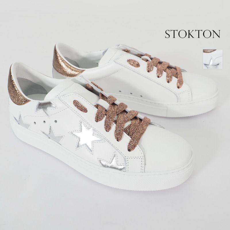 【20SS新作】STOKTON ストックトン 352D-20SS メタリックラメ 星柄 ローカットスニーカー| 20SS シューズ 春夏