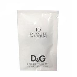 D&G10 ラ ルー デュ ラ フォルチュン アンソロジーコレクション オードトワレ 1.5ml DOLCE & GABBANA 10 LA ROUE DE LA FORTUNE