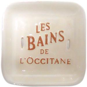 ロクシタン ソープディッシュ(石鹸置き) L'OCCITANE SOAP DISH
