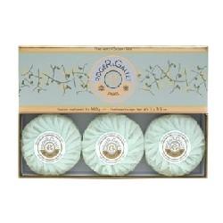 ロジェガレ グリーンティー (オーデ テ ヴェール)  香水石鹸3個セット ROGER&GALLET EAU DE THE VERT (GREEN TEA) SOAP