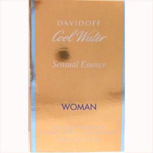 ダビドフ クールウォーター センシュアル エッセンス ウーマン オードパルファム 1.2ml DAVIDOFF COOL WATER SENSUAL ESSENCE WOMAN