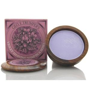 ジオ・エフ・トランパー ヴァイオレット シェイビングソープ 80g Geo F. Trumper Violet Shaving Soap