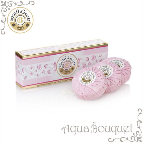 ロジェガレ ローズ 香水石鹸 100g 3個入りセット ROGER&GALLET ROSE SOAP
