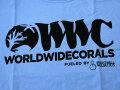 【正規輸入品】WWC T-shirt ブルー系 S size