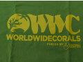 【正規輸入品】WWC T-shirt グリーン系 L size
