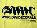 【正規輸入品】WWC T-shirt イエロー系 L size