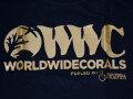 【正規輸入品】WWC T-shirt ゴールド系 S size