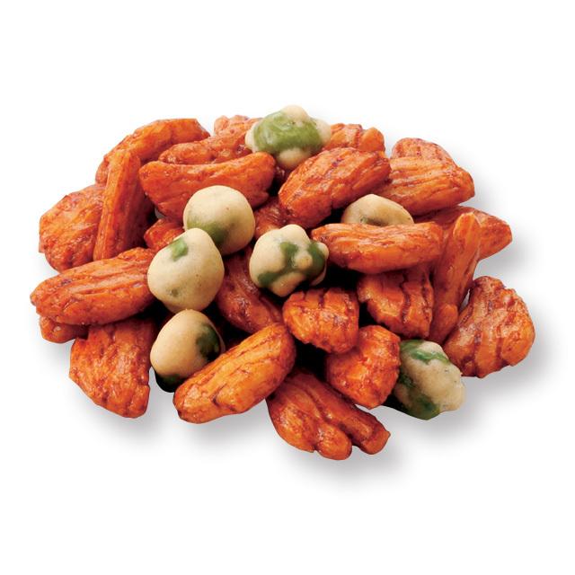 えんどう豆の柿の種