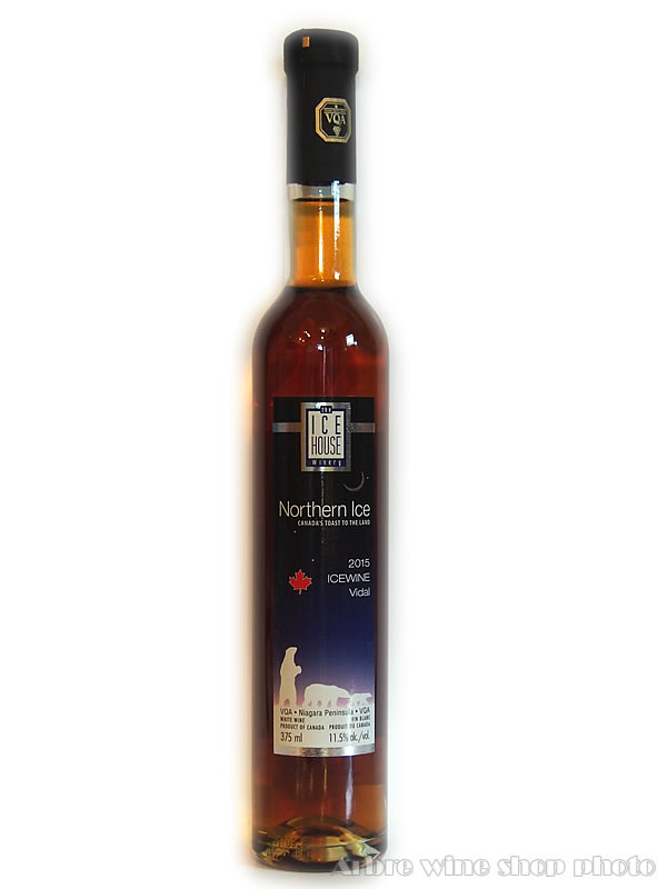 [2012]ノーザン・アイス ヴィダル アイスワイン/アイス・ハウス Northern Ice Vidal Icewine/The Ice House Winery 白 極甘口 375ml