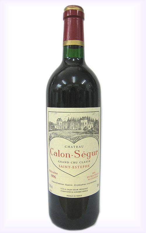 [1996]シャトー・カロン・セギュールCH.CALON-SEGUR 赤 750ml