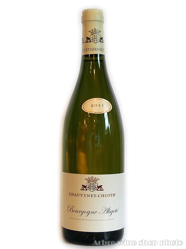 [2011]ブルゴーニュ アリゴテ/ショーヴネ ショパン Bourgogne Aligote/CHAUVENET-CHOPIN 白 750ml
