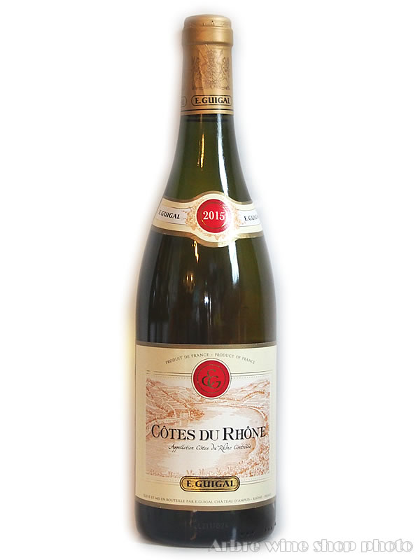 [2015]コート・デュ・ローヌ ブラン/イー・ギガル Cotes du Rhone Blanc/E.GUIGAL 白 750ml