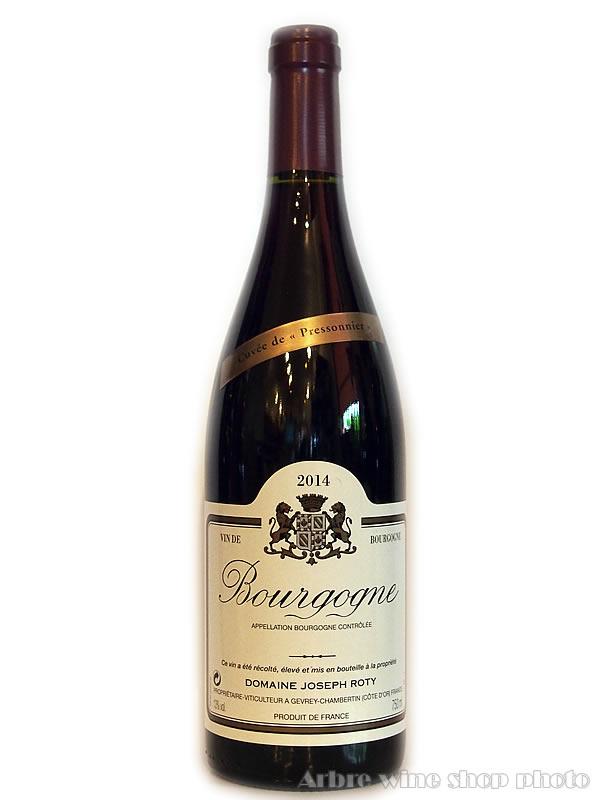 [2014]ブルゴーニュ・ルージュ・キュヴェ・ド・プレソニエール/ジョセフ・ロティ Bourgogne Rouge Cuvee De Pressonnier/Joseph Roty 赤 750ml