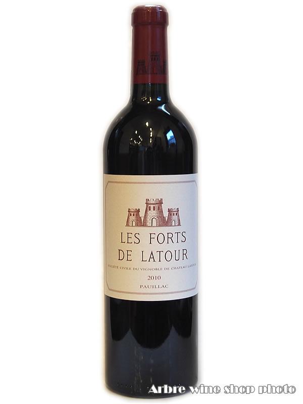 [2010]レ・フォール・ド・ラトゥール LES FORTS DE LATUR 赤 750ml