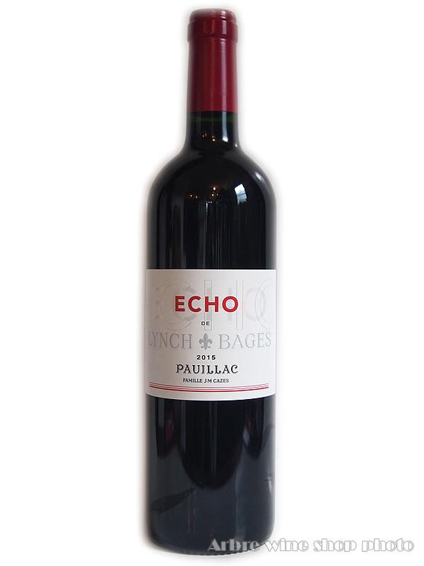 [2015]エコー・ド・ランシュ・バージュ ECHO DE LYNCH BAGES 赤 750ml