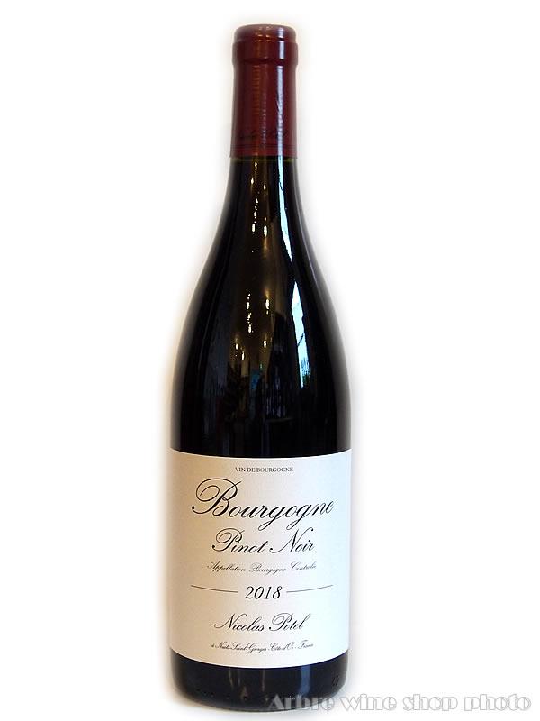 [2018]ブルゴーニュ ピノ・ノワール/二コラ・ポテル Bourgogne Pinot Noir/Nicolas Potel  赤 750ml