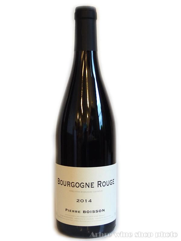 [2014]ブルゴーニュ ルージュ/ピエール・ボワッソン Bourgogne Rouge/PIERRE BOISSON  赤 750ml
