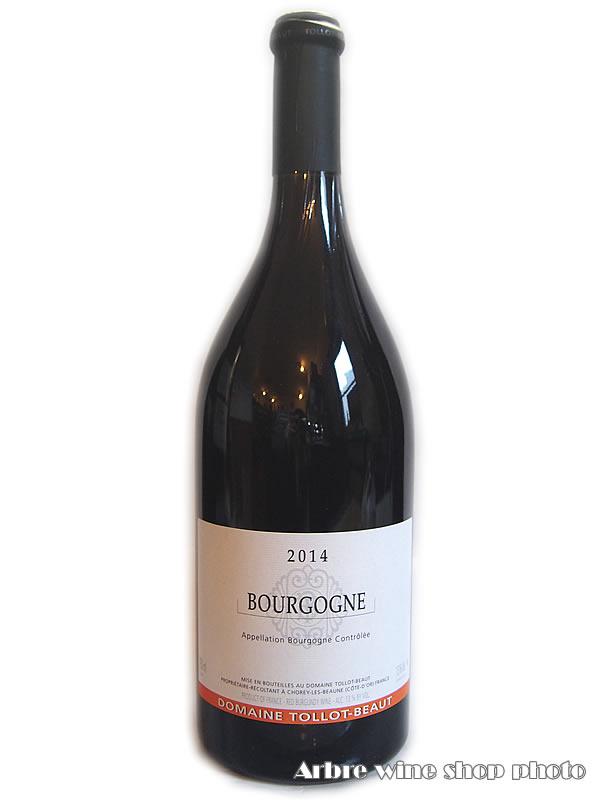 [2014]ブルゴーニュ ルージュ/トロ ボー Bourgogne Rouge/TOLLOT-BEAUT 赤 750ml
