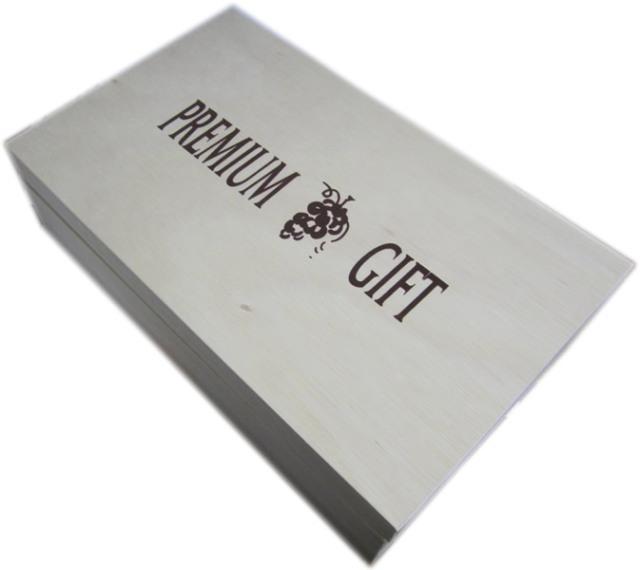 ギフトBOX(木箱2本用)