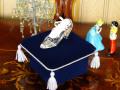 ガラスの靴 オプション リングピロー&シンデレラ 台座セット