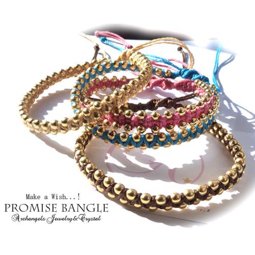 願掛けに!バングルタイプ☆【Promise Bangle(プロミスバングル)】