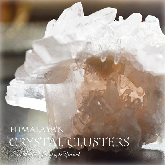 天然石 パワーストーン|クリアクォーツ ヒマラヤ産水晶 クリスタル クラスター 浄化 地鎮祭 アーキエンジェルズ クォーツ