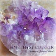 天然石 パワーストーン|アメジスト クラスター 紫水晶 浄化 ヒーリング 癒やし 原石 2月の誕生石 アーキエンジェルズ