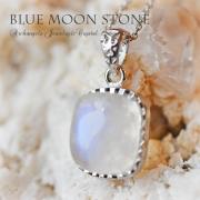 天然石 パワーストーン|ブルームーンストーン ムーンストーン 女性性 ペンダント silver925 アーキエンジェルズ 大分市
