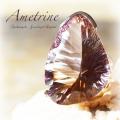天然石 パワーストーン|リング 指輪 アメトリン シトリンクォーツ アメジスト 大振りリング