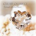 天然石 パワーストーン|クリアクォーツ 水晶 ハート型 リング 指輪 アーキエンジェルズ