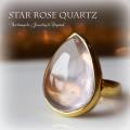 天然石 パワーストーン|スターローズクォーツ リング 指輪 シルバー925 K18GP アーキエンジェルズ