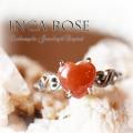 天然石 パワーストーン|インカローズ ハート リング 指輪 シルバー925 アーキエンジェルズ