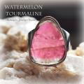 天然石 パワーストーン|ウォーターメロントルマリン トルマリン ピンクトルマリン リング 指輪 シルバー925 アーキエンジェルズ
