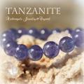 天然石 パワーストーン| タンザナイト ブレスレット アーキエンジェルズ