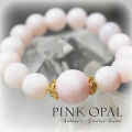 天然石 パワーストーン|  ピンクオパール ソウルメイト 縁結び ブレスレット