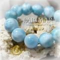天然石 パワーストーン|ラリマー ドミニカ産 レア 一級品 ブレスレット