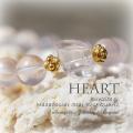 天然石 パワーストーン| クンツァイト スターローズクォーツ Heart ブレスレット アーキエンジェルズ