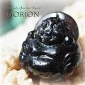 天然石 パワーストーン| モリオン 黒水晶 布袋様 七福神 魔除け 厄除け カーヴィング アーキエンジェルズ