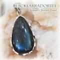 天然石 パワーストーン| ラブラドライト ブラックラブラドライト ペンダント