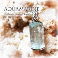 天然石 パワーストーン|アクアマリン ペンダント silver925 アーキエンジェルズ
