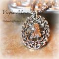 天然石 パワーストーン|マリア 聖母マリア ペンダント チェーン付き Virgin Mary アーキエンジェルズ