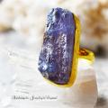 天然石 パワーストーン|タンザナイト デザイナーズジュエリー パワーストーンリング ファッションリング 指輪 アーキエンジェルズ