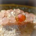天然石 パワーストーン|ピンクオパール ローズクォーツ 運命の出会い Destiny パワーストーンブレスレット アーキエンジェルズ
